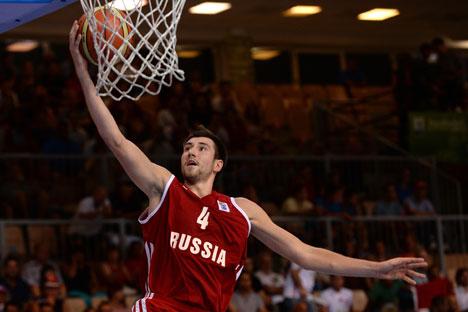 Sergey Karasev is a new defensman of Cleveland Cavaliers. Source: RIA Novosti