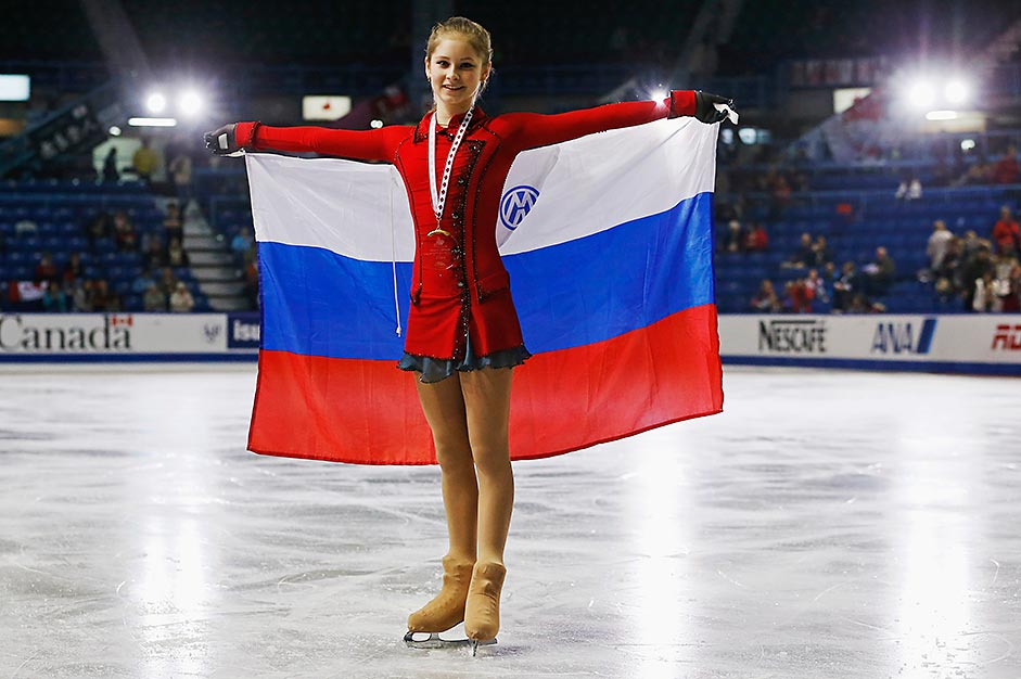 Vor drei Jahren gewann die damals 15-jährige Eiskunstläuferin die Damenkonkurrenz des Grand Prix Skate Canada in St. John, New Brunswick, und galt als stärkste Sportlerin im russischen Team. Foto: Reuters