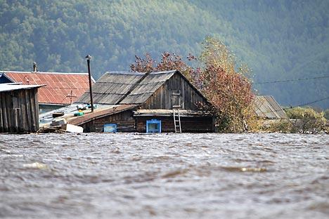 Поплава на рускиот Далечен Исток.