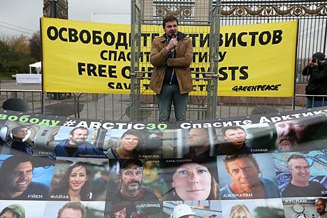 Todos os 26 ativistas estrangeiros conseguiram voltar para casa antes do ano novo Foto: ITAR-TASS