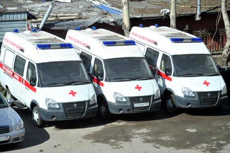 Perm becomes ambulance outsourcing pioneer. Source: Press Photo