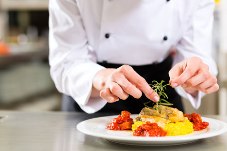 Students will be taught by leading French and Russian chefs. Source: Shutterstock