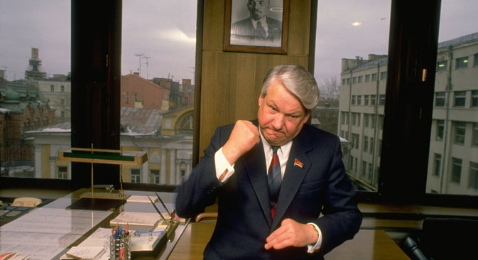 Russia's first President Boris Yeltsin. Source: Getty Images / Photobank