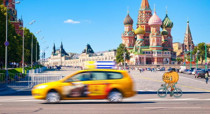 Who drives Moscow city transport? Source: Shutterstock
