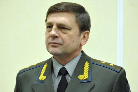 Oleg Ostapenko: 'We will provide impetus to our main business lines so as to expedite work.' Source: ITAR-TASS