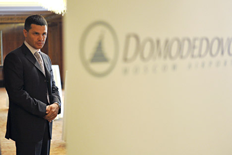 Dmitry Kamenschik, the owner of Domodedovo, the country's only privately held airport. Source: Artem Zhitenev / RIA Novosti
