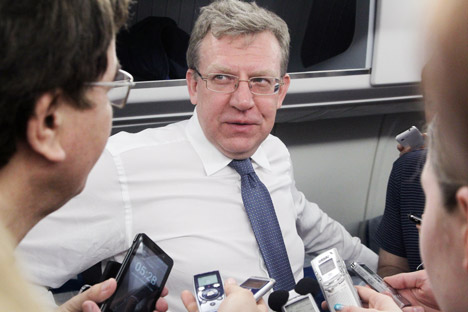 Alexei Kudrin, Russia's finance minister from 2000 to 2011. Source: Konstantin Zavrazhin/RG