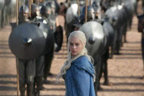 """A série """"Game of Thrones"""" é um dos produtos mais bem sucedidos do canal americano de televisão HBO Foto: kinopoisk"""