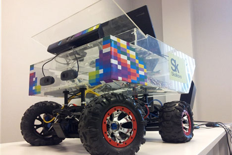 RoboCV creates quick-thinking robots and plans to produce a driverless car in 10 years. Source: Press Photo / Skolkovo