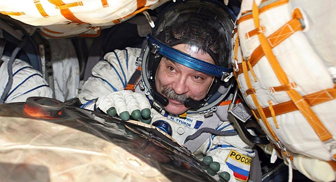 Сosmonaut Mikhail Tyurin: I have not seen any UFOs in space. Source: AP