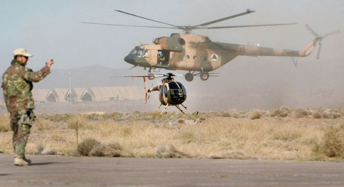 Earlier this year Pentagon had agreed to buy a total of 63 Mi-17 V5 helicopters for the Kabul government at a cost of $1.1 billion. Source: AP