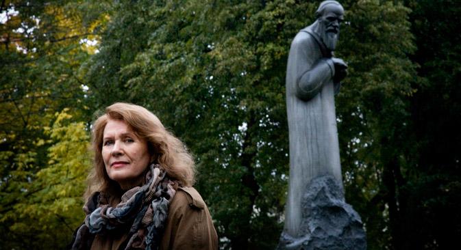 Liudmila Saráskina é doutora em filologia, historiadora da literatura, estudiosa da vida e obra de Fiódor Dostoévski e Alexander Soljenítsin Foto: Nóvaia Gazeta
