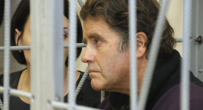 Peter Willcox may face a 7-year sentence in prison. Source: RIA Notosti