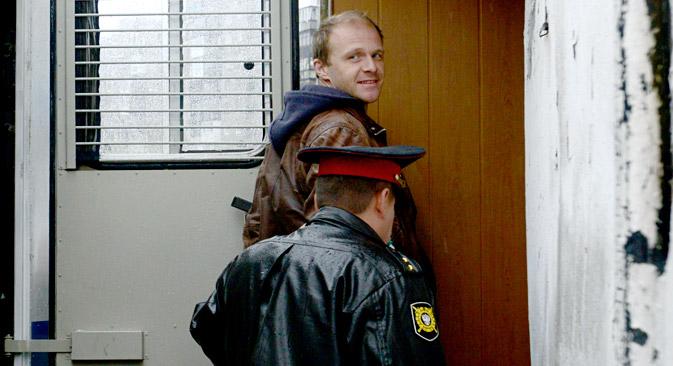 "Denis Sinjakow, der inhaftierte Fotograf der ""Arctic Sunrise"".  Foto: Reuters"