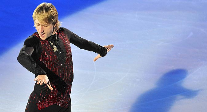 """Plushenko: """"You need to start up lower to reach the top purpose - the fourth Olympics."""" Source: Imago / Legion media"""