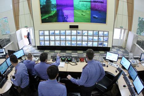 El nuevo sistema consiste en un programa informático de análisis que procesará la información sobre el tráfico en tiempo real con cámaras de seguridad. Fuente: Serguéi Kuksin / RG