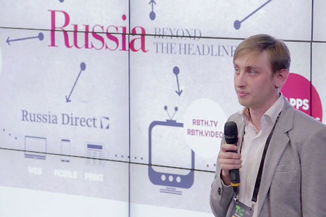 Dan Pototsky, the executive editor of special projects. Source: RBTH