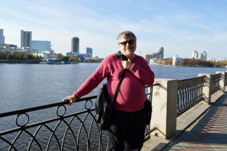 """Phillip Imel: """"After my retirement, my wife and I are planning to spend the summer in Yekaterinburg and maybe even part of the autumn"""". Source: Personal archive"""