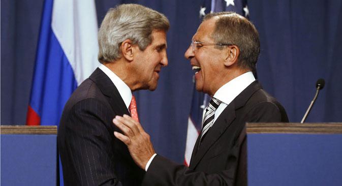 Syrien, Iran, NSA-Affäre – die russische Außenpolitik zeigte sich 2013 von ihrer besten Seite. Foto: AFP/East News