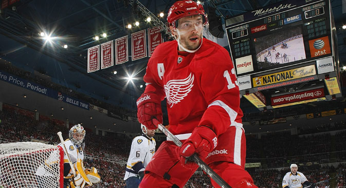 Pavel Datsyuk. Source: Getty Images / Fotobank