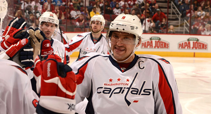 Alexander Ovechkin. Source: Getty Images / Fotobank