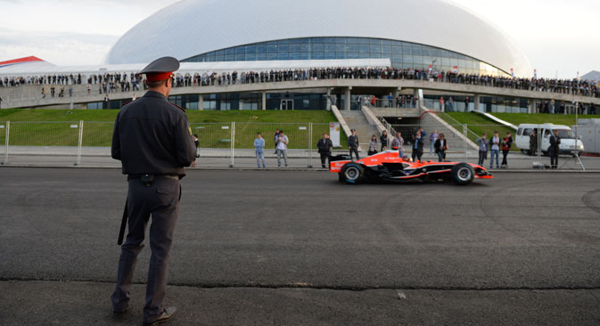 Russian authorities promise to make Sochi Winter Games the safest Olympics ever. Source: Mikhail Mokrushin / RIA Novosti