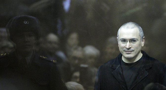 Former Yukos head has already flown to Germany, where his mother is undergoing medical treatment. Source: Reuters
