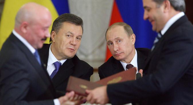 Ao assumir acordos com líderes ucranianos, Pútin tem em mente os interesses nacionais Foto: Reuters