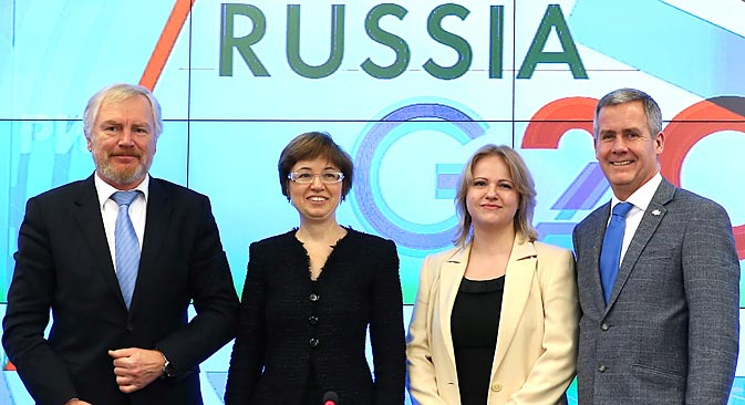 Russia passed the torch of the G20 presidency to Australia on Dec. 1. Source: ITAR-TASS