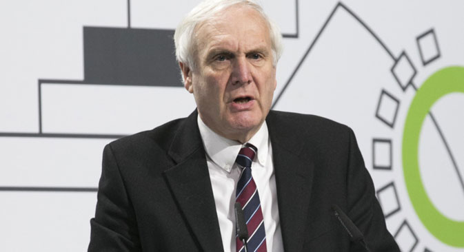 Sir Edward Lister during Moscow Urban Forum. Source: ITAR-TASS