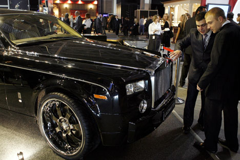 In Russia, approximately 1,000 luxury vehicles sold every year. Source: Getty Images / Fotobank