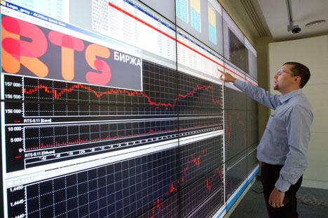 Segundo especialistas, ter uma grande parte de investidores estrangeiros no mercado de ações russo é um sinal positivo Foto: RIA Nóvosti