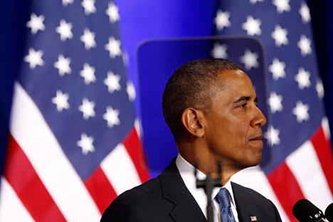 Líder americano promete reforçar segurança dos Estados Unidos contra ameaças externas Foto: Reuters