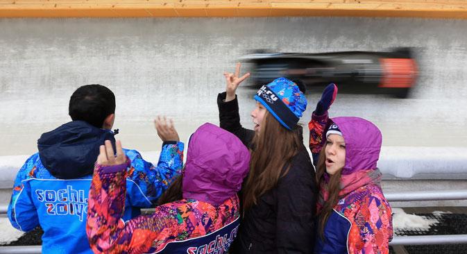 In wenigen Jahren wurde die Infrastruktur für die Olympischen Winterspiele in Sotschi aus dem Boden gestampft. Foto: Photoshot/Vostock Photo