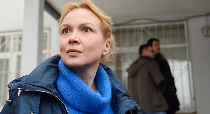 The court banned Aksana Panova from working in the media business for two years. Source: ITAR-TASS