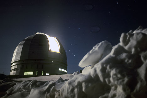The Large Azimuth Telescope is still one of the 20 largest in the world. Source: RIA Novosti