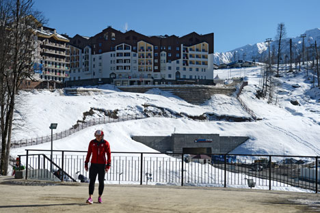 The hotel complex outside Sochi. Source: Alexander Kryazhev / RIA Novosti