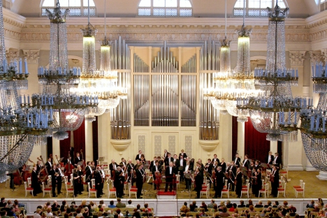 Foreigners may know the Bolshoi or Mariinsky, but the St. Petersburg Philharmonic is a singular treasure of sound. Source: Press photo