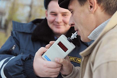 Desastres envolvendo motoristas bêbados correspondem a 9% de todos os casos em 2014  Foto: TASS