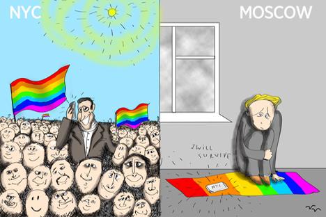 A gay Russian-American examines Sochi protest
