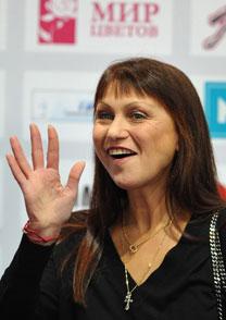 Russian ice dancing coach and choreographer Marina Zueva