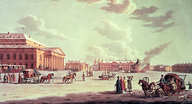 It was St Petersburg, founded in 1703, that was to prove the great tourist attraction. Source: Bridgeman