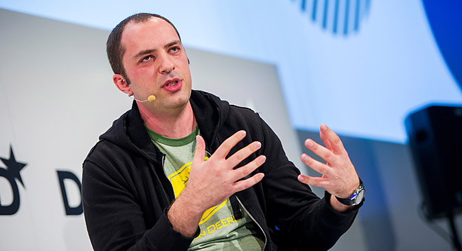 WhatsApp founder Jan Koum. Source: Photoshot / Vostock Photo
