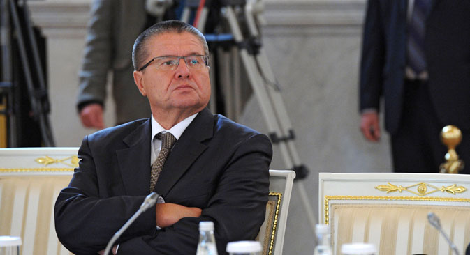 Economic Development Minister Alexei Ulyukayev.