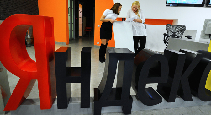 For Yandex Russia is not enough. Source: ITAR-TASS