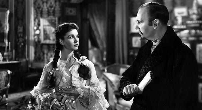 Vivien Leigh represented Tolstoi's Anna Karenina in 1948. Source: Ralph Richardson / Legion Media