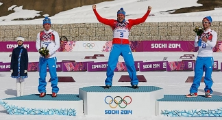 Golden finale to the Olympics