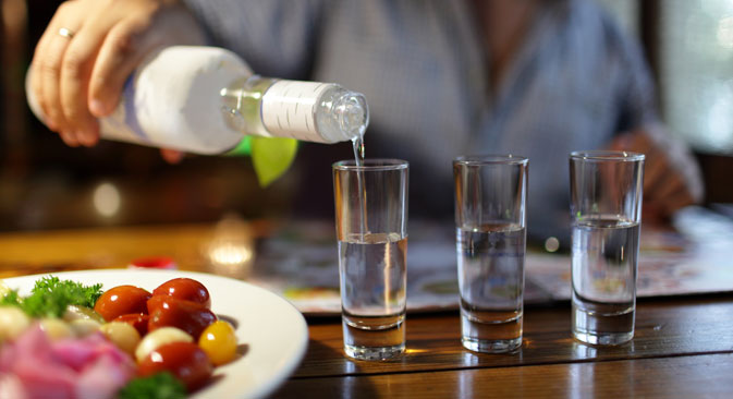 Last summer, U.S. LBGT organization Queer Nation initiated a campaign of boycott against Russian vodka. Source:  Shutterstock