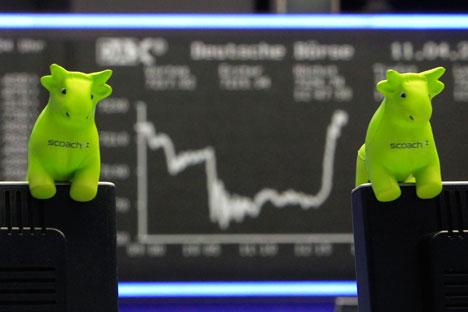 Durch die Einigung in Minsk bekommen die Aktienmärkte Luft zum Atmen. Foto: AP