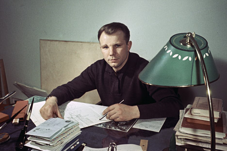 After his flight, Major Gagarin, traveled the world without a break, glorifying the Soviet way of life. Source: Alexadnr Mokletsov / RIA Novosti